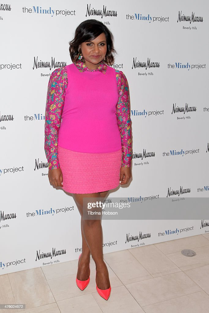 The Mindy Project Costume Design Event For Members Of The Academy Of Television, Arts & Sciences : News Photo