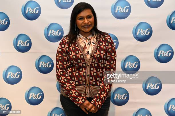 Mindy Kaling attends the PG #WeSeeEqual Forum held at Proctor Gamble on March 04 2020 in Cincinnati Ohio