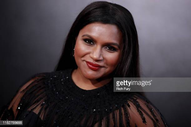 """Mindy Kaling attends the premiere of Amazon Studio's """"Late Night"""" at The Orpheum Theatre on May 30, 2019 in Los Angeles, California."""