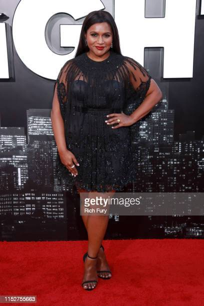 Mindy Kaling attends the premiere of Amazon Studio's Late Night at The Orpheum Theatre on May 30 2019 in Los Angeles California