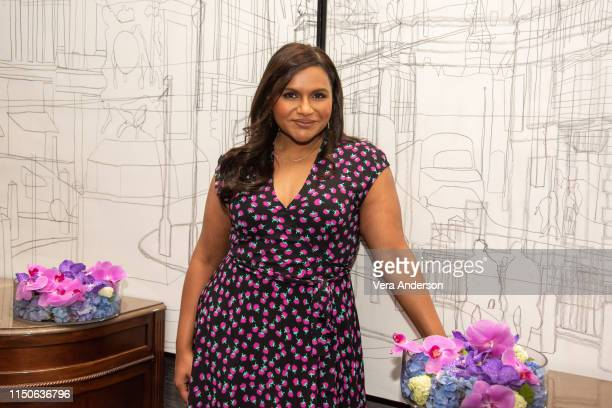 Mindy Kaling during the Late Night Press Conference at the Corinthia Hotel on May 19 2019 in London England