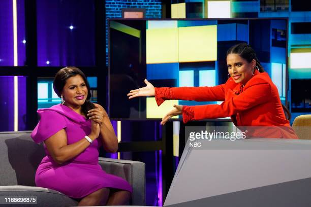 SINGH Mindy Kaling Episode 105 Pictured Mindy Kaling Lilly Singh