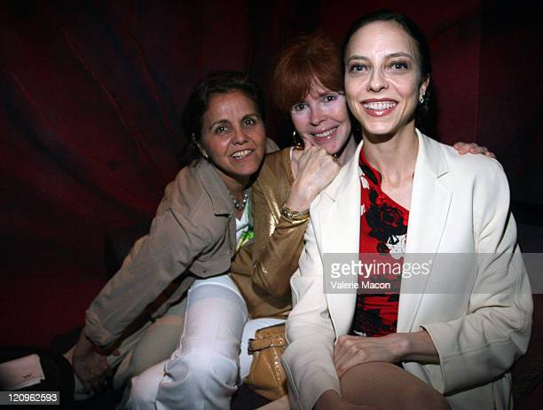 Mindy Schiller Heather Lowe and Juliet Landau attend the 2008 Los Angeles Film Festival's Sheila Nevins Party at the W Los Angeles on June 26 2008 in...
