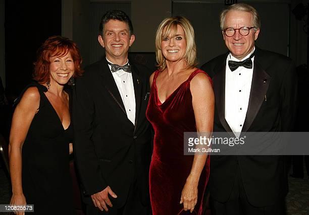 Mindy Spencer Todd Leavitt Linda Gray and John Leverence