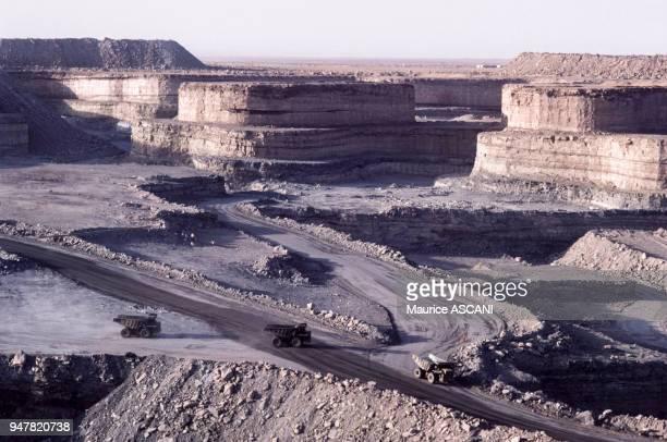 Mine d'uranium de la SOMAIR , Niger.