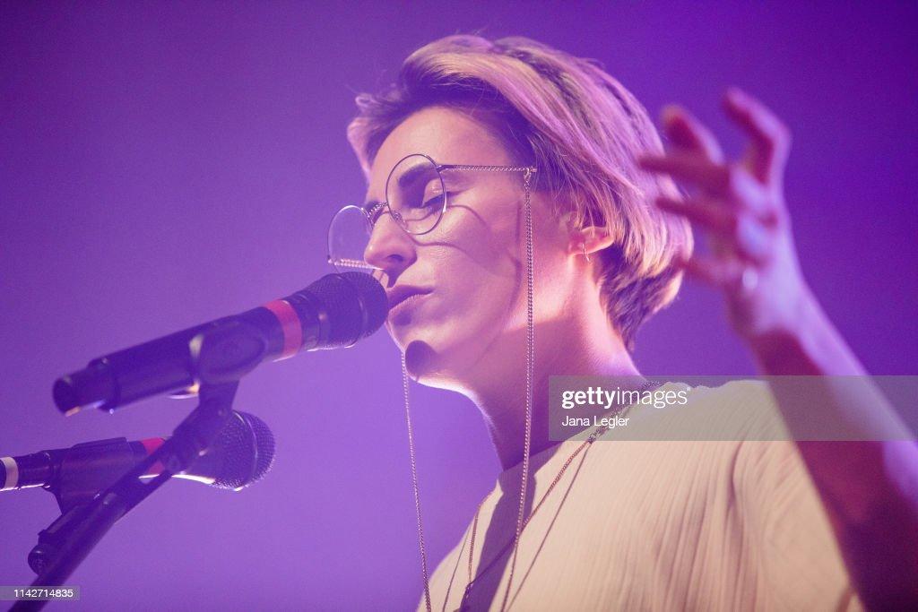 DEU: Mine Performs In Berlin