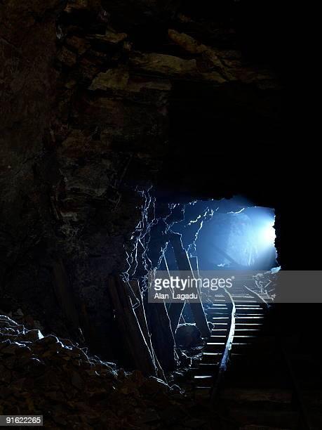 Mine shaft, Jersey.
