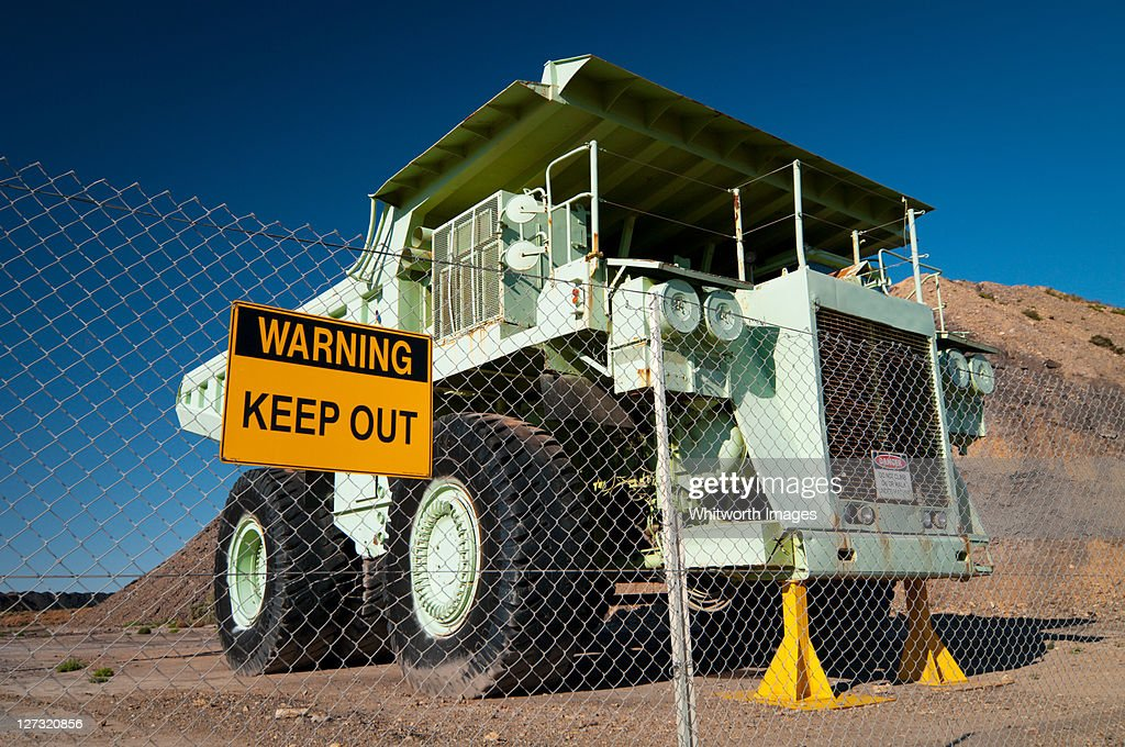 Mine Truck : Foto de stock