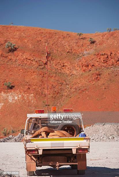 Mine utility and red hill