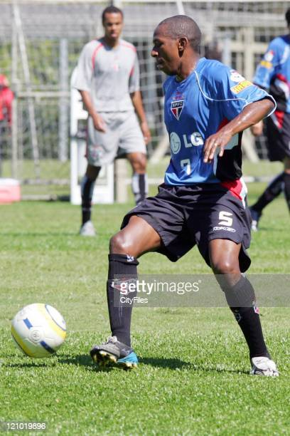Mineiro of the new Brazilian champions FC Sao Paulo