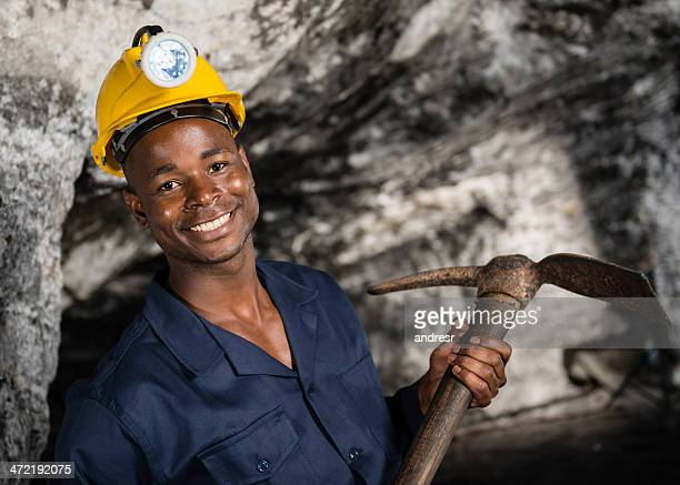 Miner at the mine