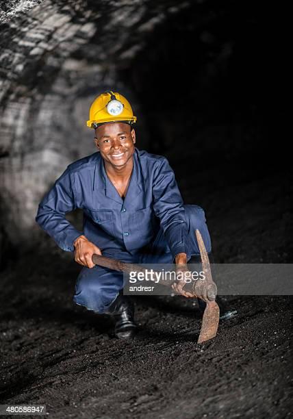 Minero de retención de un pico