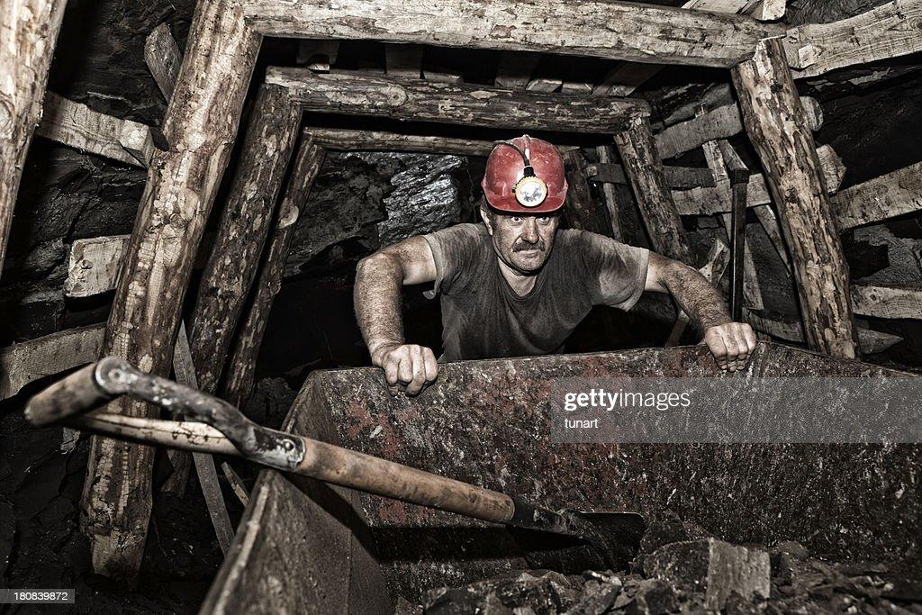 Miner : Stock Photo