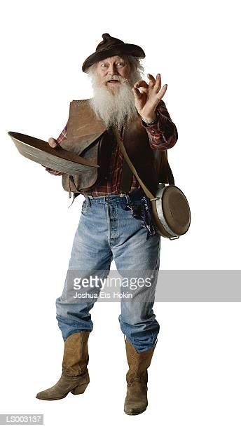 miner - gold rush stock photos and pictures
