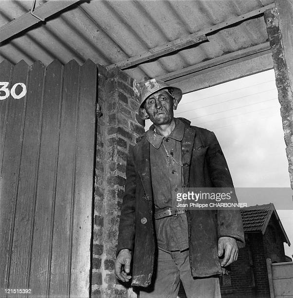 Miner Returning Lens North 1954