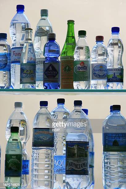 Mineral water Bottles of mineral water