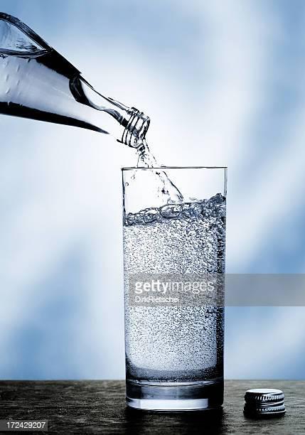 Mineralwasser.