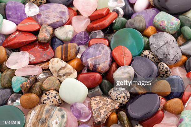 Mineralien und Kristalle-viele unterschiedliche Arten