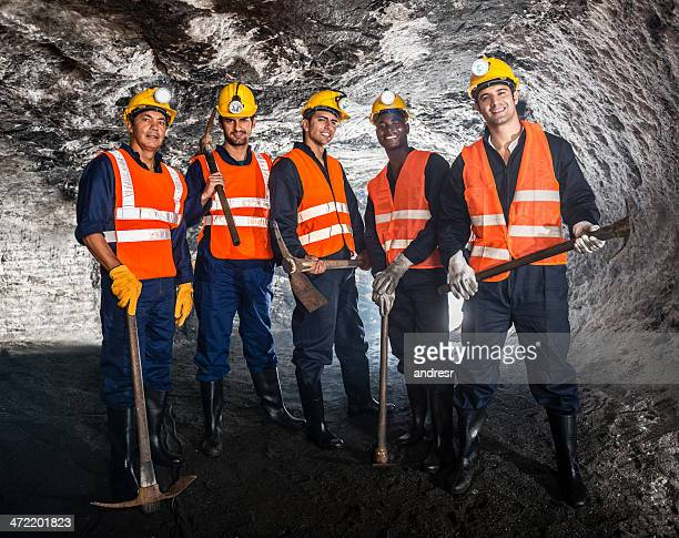 Miners and pick axes