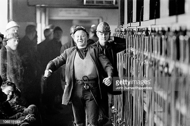 Miners at Dawdon Colliery County Durham circa 1963