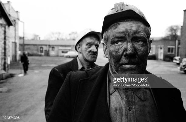Miners at Dawdon Colliery in County Durham circa 1963