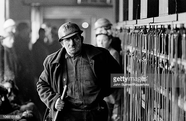 Miners at Dawdon Colliery County Durham circa 1963