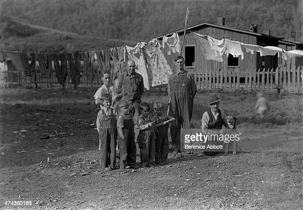 Miner's Family Greenview West Virginia circa 1933