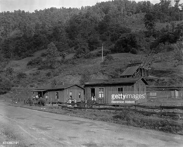 Miner's houses Greenview West Virginia circa 1933
