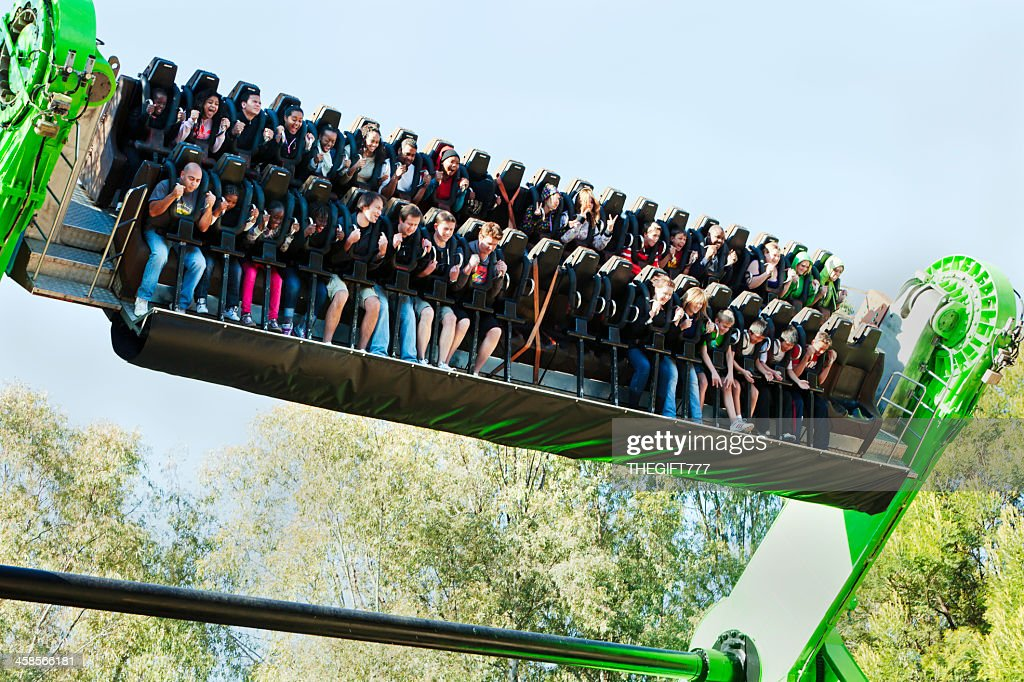 Gold Reef City >> Miners Revenge Ride At Gold Reef City Stock Photo Getty Images