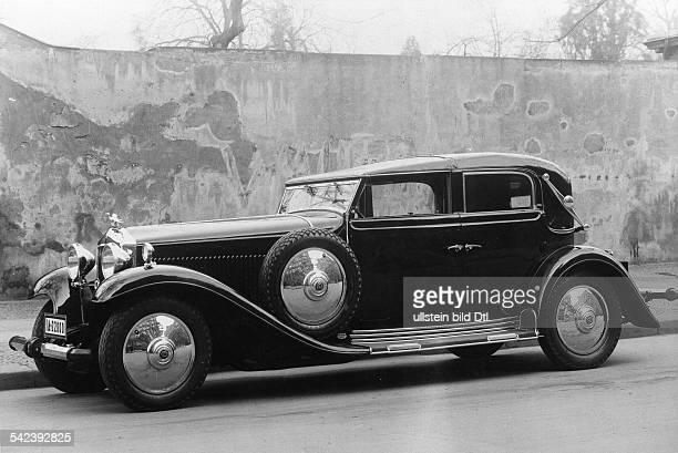Minerva AchtZylinder 16/80 PS Cabriolet CoupeKarosserie Josef Neuss Berlin im Besitz von Rudolf Ullstein1931Foto Zander Labisch