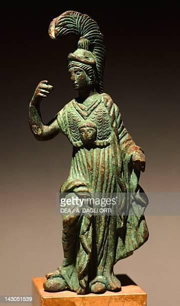 Minerva bronze statue FriuliVenezia Giulia Italy Paleoveneti Civilization 2nd or 3rd Century Aquileia Museo Archeologico Nazionale
