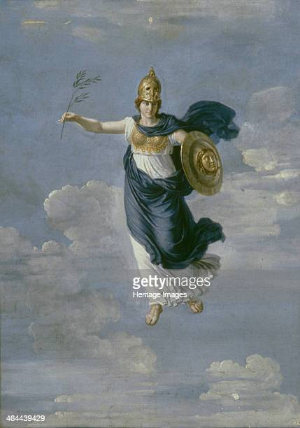 Minerva in the Heavens 1820 Found in the collection of the State Russian Museum St Petersburg