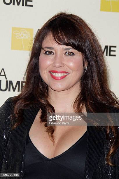 Minerva Piquero attends Academia del perfume awards photocall at Casa de America on November 20 2012 in Madrid Spain