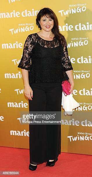 Minerva Piquero attends 'Marie Claire Prix de la moda' awards 2014 photocall at Residence of France on November 19 2014 in Madrid Spain