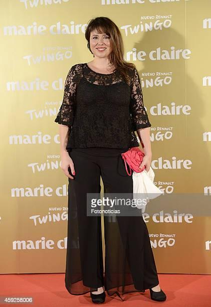 Minerva Piquero attends the 2014 Marie Claire Prix de la Mode at Callao Theater on November 19 2014 in Madrid Spain