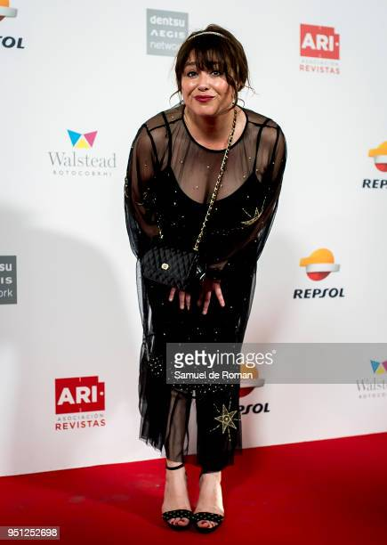 Minerva Piquero attends the ARI Awards photocall 2018 on April 25 2018 in Madrid Spain