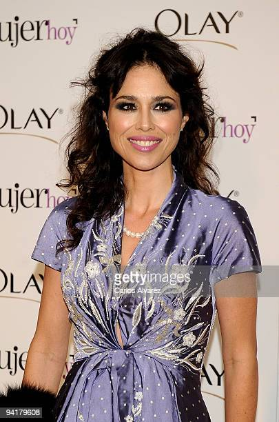 Minerva Piquero attends the Mujer de Hoy 2009 awards at ABC building on December 9 2009 in Madrid Spain