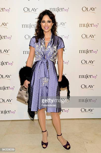 Minerva Piquero attends the Mujer Hoy 2009 Awards at ABC building on December 9 2009 in Madrid Spain