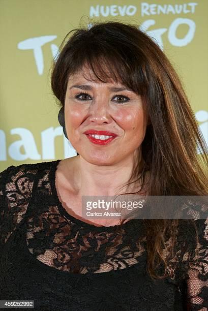 Minerva Piquero attends the XII Marie Claire Prix de la Moda Awards at the Callao cinema on November 19 2014 in Madrid Spain