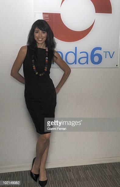 Minerva Piquero TV presenter of the channel 'Onda 6' 16th September 2009 City of the Image Madrid Spain