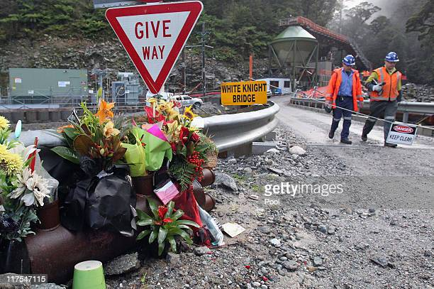 Mines Rescue staff prepare to enter Pike River mine on June 28 2011 in Greymouth New Zealand Teams entered for the first time today in an attempt to...