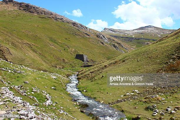 Mines valley in Aralar Mountain Range, Basque Country