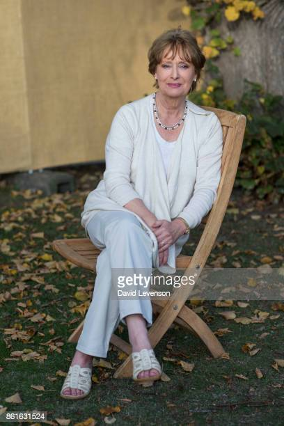 Minette Walters author during the Cheltenham Literature Festival on October 15 2017 in Cheltenham England