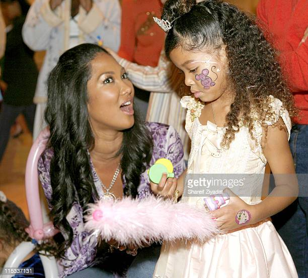 Ming Lee Simmons and Kimora Lee Simmons during Kimora Lee Simmons and Russell Simmons Host Ming Lee Simmons' Fifth Birthday at Pleasantdale...