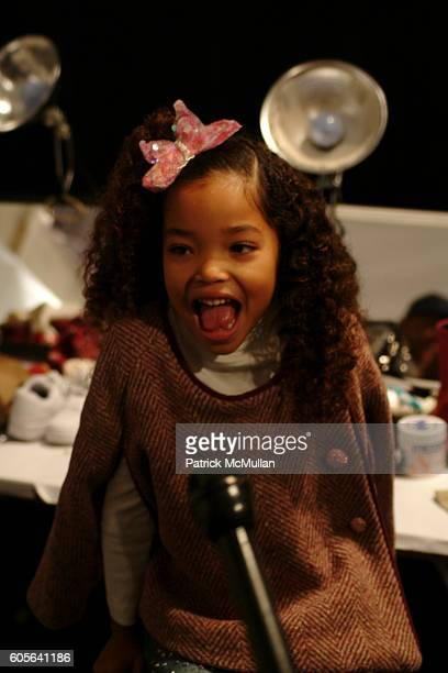 Ming Lee Simmons attends Child Magazine Fall 2006 Fashion Show at The Atelier at Bryant Park on February 6 2006 in New York