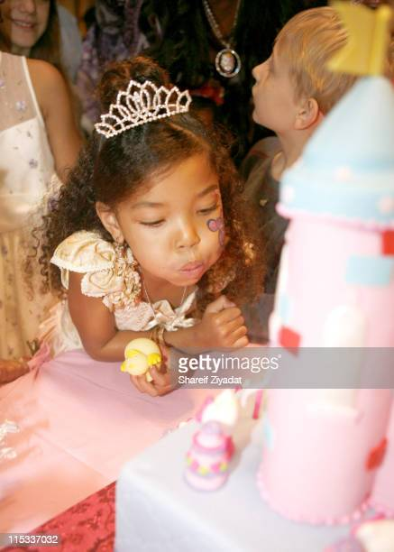 Ming Lee Simmons during Kimora Lee Simmons and Russell Simmons Host Ming Lee Simmons' Fifth Birthday at Pleasantdale Restaurant in West Orange New...