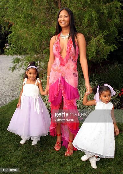 Ming Lee Simmons Kimora Lee Simmons and Aoki Simmons