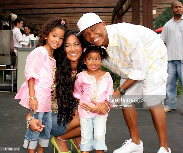 Ming Lee Simmons Kimora Lee Simmons Aoki Simmons and Russell Simmons