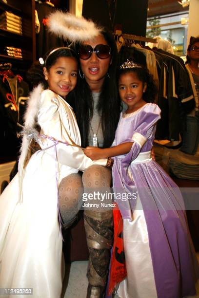 Ming Lee SimmonsKimora Lee Simmons and Aoki Lee Simmons