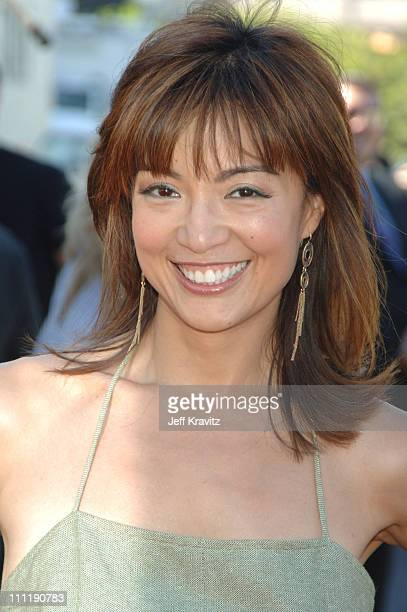 Ming Na during 2006 Teen Choice Awards Arrivals at Gibson Amphitheatre in Universal City California United States